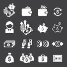 Coin,Pocket,Wealth,Vector,Symbol,Money Bag,Piggy Bank,Briefcase,Wages,Growth,Finance,Occupation,Wallet,Bag,Currency,Emergence,Paying,Calculator,Computer Graphic,Business