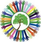 Circle,Environment,Symbol,Teamwork,Think Green,People,Togetherness,Women,Corporate Social Responsibility,Recycling,Sign,Protection,Customer Service Representative,Blue,humane,Charity and Relief Work,Vector,Surrounding,Ethnicity,Nature