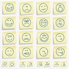 Smiley Face,Smiling,Emoticon,Adhesive Note,Emotion,Facial Expression,Religious Icon,Symbol,Cartoon,Humor,Icon Set,Sadness,Cheerful,Note Pad,Happiness,Bizarre,Laughing,Drawing - Activity,Depression - Sadness,Drawing - Art Product,Vector,Tired,Illness,Crying,Displeased,Heart Shape,Sign,Furious,Tear,Anger,Sticking Out Tongue,Ilustration,Yellow,Computer Graphic,Pencil Drawing,Blinking,Series,Collection,In A Row,Style,Digitally Generated Image,Illustrations And Vector Art,People,Vector Icons