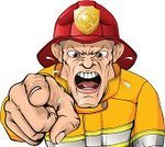 Violence,Animated Cartoon,Cartoon,Firefighter,One Person,Bizarre,Cruel,Isolated,Desire,Office Interior,Men,Service,USA,Brigade,Rescue,Screaming,Shouting,Manager,Organization,Leadership,'at' Symbol,Yellow,Work Helmet,you,Irritation,Officer,Foreman,Furious,Male,Bullying,People,Cheap,Uniform,Safety,Conflict,Characters,Vector,Urgency,Abuse,Bossy,Human Finger,Red,Anger,Displeased,Clip Art,Pointing,Aggression,Arguing,American Culture,Fire - Natural Phenomenon