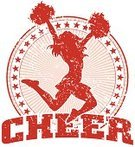 Cheerleader,Sport,Retro Revival,Old-fashioned,Silhouette,Sports Team,Design,Women,School Building,Vitality,Teenage Girls,Female,pom,Ilustration,Jumping,Sun,Teenager,Youth Culture,Cheering,Star Shape