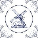 Drawing - Art Product,Non-Urban Scene,Rural Scene,Delft,Watermill,Mill,Pottery,Blue,Dutch Culture,Old-fashioned,White,Design,Tile,Antique,Floral Pattern,Retro Revival,Design Element,Cartoon,Striped,Landscape,Obsolete,Collection,Clip Art,Backgrounds,Greeting Card,Single Flower,Art,Ilustration,Flower,Part Of,Line Art,Vector,Frame,Holland,Circle,Square,Netherlands,Dutch Ethnicity,Old,hand drawn,Greeting,Cultures,Curve,Delftware,Ornate,Decoration,Rustic