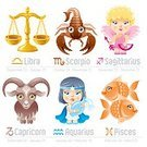 Astrology Sign,Fortune Telling,Baby,Cartoon,Angel,Symbol,Weight Scale,Animal,Sign,Child,Fish,Goat,Little Girls,Cute,Vector,Capricorn,Libra,Computer Icon,Doll,Aquarius,Ilustration,Icon Set,Arrow,Scorpio,Scorpion,Pisces,Toy,Sagittarius,Balance,Water,Goldfish,Characters,1940-1980 Retro-Styled Imagery,Clip Art,Retro Revival,Design Element,Blond Hair,Jug,January,Bow,March,November,February,October,September,December