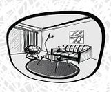 Sketch,Domestic Room,Home Interior,Digitally Generated Image,Window,Architecture,White,Modern,Built Structure,Blueprint,Ideas,Technology,Abstract,Construction Industry,Comfortable,Print,Vanishing Point,Chair,render,Isolated,Backgrounds,achromatic,Space,Ilustration,Planning,Furniture,Design,Indoors,Apartment,Frame,Lifestyles,Painted Image,Residential District,Monochrome,Sofa,Drafting,Shape,Pattern,Diminishing Perspective