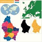 Politics,territories,Territorial,Europe,Luxembourg - Benelux,Grand Duchy,Symbol,region,Cut Out,county,Ilustration,National Landmark,province,Outline,continent