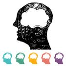 Education,Internet,Data,Part Of,Silhouette,Memories,Intelligence,Creativity,People,Concepts,Symbol,Computer Icon,Human Brain,Icon Set,Human Head,Ideas,Thinking,Learning