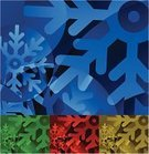 Funky,Christmas,Snowflake,Cool,Winter,Hill,Snow,Cold - Termperature,Abstract,Design Element,Design,Part Of,Backgrounds