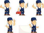 Cap,Engineer,Vector,Cartoon,Mascot,Work Tool,Occupation,Ilustration,Wrench,Machine Part,Foam Hand,Apple - Fruit,Pencil,Car,Mechanic,Manual Worker,Auto Repair Shop,Auto Mechanic,Craftsperson,Hat,Blue,Plumber,Service,Accessibility,Trading,Bib Overalls,Repairman,Men,Number 1,Professional Occupation,Writing,Transportation,Repairing,customizable,Spanner
