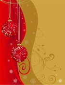 Christmas,Holiday,Gold Colored,Scroll,Red,Sphere,Swirl,Backgrounds,Red Background,Scroll Shape,Snowflake,Christmas Ornament,Spiral,Hanging,Christmas Decoration,Winter,Vector,Christmas,Vector Backgrounds,Holidays And Celebrations,Holiday Backgrounds,Curve,Wave Pattern,Ilustration,Illustrations And Vector Art