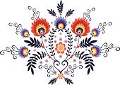 Poland,Polish Culture,Folk Music,Cultures,Embroidery,Ilustration,Flower,Single Flower,Floral Pattern,Art,Colors,Ornate,Design,Pattern,Branch,Indigenous Culture,National Landmark,Backgrounds,Decoration,Color Image,Symbol,Drawing - Art Product,Painted Image,Vector,Effortless,Seamless,Souvenir,History