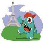 Human Eye,Monster,Cute,France,Cloud - Sky,Weaving,Smiling,Cheerful,Blue,Green Color,Isolated,Mascot,Vacations,Business Travel,Travel,Eiffel Tower,Tower,Cap,Backgrounds,Animal Eye,Toenail,Fingernail,Bag,Cloudscape,Happiness,Alien,Animal Teeth,Human Teeth,People Traveling,Characters,Vector,Journey,Travel Destinations,Explorer,Tourist,Paris - France