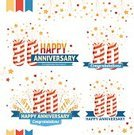 Human Age,Petard,Anniversary,years,Design Element,Decoration,Sparkler,Label,80 Plus Years,Celebration,Celebration Event,Number,Ilustration,Congratulating,Memorial,Event,Party - Social Event,Collection,Retro Revival,Pyrotechnics,Ornate,Design,Ribbon,Set,Award,Vector,Insignia,Sign,Birthday,Text,Star Shape,Ceremony,Symbol,Jubilee,Graduation,Candle