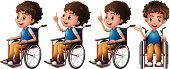 Child,Wheelchair,Sitting,Men,Little Boys,Cute,Series,Clip Art,White Background,Wheel,Collection,Illness,Vector,Equipment,Computer Graphic,Single Object,Healthcare And Medicine,Special Need,unable,Physical Impairment