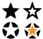 Design,Vector,Pattern,Circle,Sign,Star Shape,Dirty,Spraying,Blob,No People,Black Color,Design Element,Label,Symbol,Stained,Ilustration,Decoration,Toned Image,Spotted,Spray,Empty,Digitally Generated Image,Awards Ceremony,Isolated On White,Grunge,Set,Abstract,Computer Graphic,Halftone Pattern,Halftone Pattern,1940-1980 Retro-Styled Imagery,Shape
