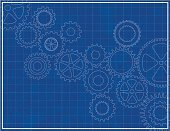Gear,Blueprint,Backgrounds,Computer Graphic,Machinery,Machine Part,Diagram,Technology,Plan,Automated,Abstract,Blue,Vector,Sketch,Wheel,Construction Industry,Circle,Paper,Design,Industry,Symbol,Grunge,Design Element,Backdrop,gearing,Turning,Ilustration,graphic element,Technology Symbols/Metaphors,Vector Backgrounds,Technology Backgrounds,mechanized,Technology,Illustrations And Vector Art