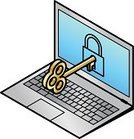 Accessibility,Security,Lock,Log On,Laptop,Padlock,PC,Technology,Safety,Secrecy,Key,Password,Internet,Three Dimensional,Protection,Unlocking,Brass,Computer,Computer Icon,Self-Defense,Data,Isometric