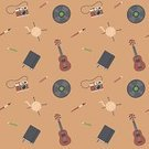 Photography,Camera - Photographic Equipment,Ukelele,Notebook,Design,Group of Objects,Drawing - Activity,Music,Activity,Art,Pencil,Paintbrush,Seamless,Craft,Drawing - Art Product,Pattern,Hobbies,vynil,Lifestyles,Hipster,Knitting