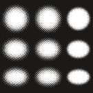 Spotted,Halftone Pattern,Pattern,Ellipse,Backgrounds,Comic Book,Concepts,Creativity,Abstract,Variation,Art,Decoration,Digitally Generated Image,Design,Cartoon,Speech Bubble,Balloon,Ornate,Black And White,White,Shape,Black Color,Dialogue Balloon,Monochrome,In A Row,Inspiration,Set,Solid Fill,Outline,Circle,Imagination,Motivation,One-colored,Inversive,Silhouette,Bubble,Ideas,Contrasts,Copy Space