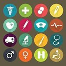 Symbol,Surgery,Thermometer,Doctor,Hospital,Backgrounds,Stethoscope,Vector,Sign,Equipment