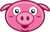 Animal Head,Overweight,Human Face,Emotion,Farm,Fun,Computer Icon,Computer Graphic,Ilustration,Friendship,Pink Color,Looking,Zoo,Joy,Image,Child,Single Object,Simplicity,Pig,Vector,Isolated,Small,Cartoon,Characters,Clip Art,Large,Art,Symbol,Happiness,Animal,Concepts,Ideas,White,Pets,Young Animal,Pork,Smiling,Cute,Sign,Shape,Nature