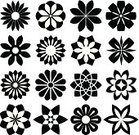 Symbol,Nature,Organic,Single Flower,Flower,Daisy,Petal,Clip Art,Geometric Shape,Art,Horticulture,Knick Knack,Springtime,Rose - Flower,heraldic,Isolated,Award Ribbon,Gardening,Decoration,Ornate,Badge,Spiral,Silhouette,Gothic Style,Vector,Tattoo,Computer Graphic,Blossom,Drawing - Art Product,Abstract,Swirl,Botany,Shape,Ilustration,Plant,Collection,Clip,Flower Head