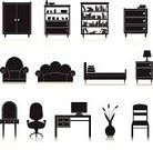 Furniture,Ornate,Mirror,Indoors,Sofa,Domestic Life,Armchair,Isolated,Vector,Decoration,Book,Home Interior,Black Color,Seat,Set,Web Page,Technology,Design Element,Icon Set,Collection,Bed,Shelf,Table,Chair,Computer,White,Cabinet,Vase,Sideboard,Scrapbook,Insignia,Ilustration,Closet,Desk,Internet,Design,Office Interior,Electric Lamp,Bookshelf,Painted Image,Symbol