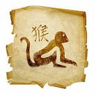 Monkey,Astrology Sign,Animal,Calendar,Symbol,Fortune Telling,Japanese Culture,Paper,Art,Asian Ethnicity,China - East Asia,Sign,Isolated,Ilustration,Human Age,Kanji,Calligraphy,Birthday,Old,Aging Process,Indigenous Culture,Photograph,Paintings,Asia,Japan,Hieroglyphics,Nature,Design Element,Year,Typescript,Parchment,Forecasting,Exoticism,Yellow,Brown,Dirty,Futuristic,Tropical Climate,Cultures,Arts And Entertainment,Arts Symbols,fortunetelling