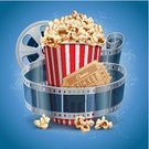 Movie,Night,Film Industry,Film Reel,Camera Film,Popcorn,Backgrounds,Rolled Up,Audio Cassette,Plan,Ticket,Food,Poster,Billboard Posting,Concepts,Ideas,Corn,Television Broadcasting,Cardboard,Stripper,Equipment,Entertainment,Banner,Snack,Retro Revival,Ribbon,Exhibition,Theatrical Performance,Information Medium,template,Intricacy,Ilustration,Blue,Pattern,Video,Record,Paper,Design,Vector,Single Object,Design Element,Placard,Box - Container,Performance