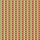 Blue,Red,Yellow,Small,Vector,Backgrounds,Hexagon,Shape,Pattern