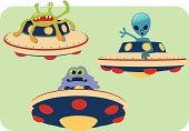 Space,Invaders,Astronaut,Backgrounds,Collection,Fun,Science,Flying,Set,Galaxy,Rocket,Humor,Ship,UFO,Alien,Planet - Space,Design,Spaceship,Cartoon,Ilustration,Monster,Vector,Cute