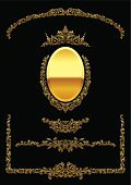 Mirror,Gold Colored,Gold,Picture Frame,Frame,Luxury,Palace,Obsolete,Decor,Old-fashioned,Black Color,Elliptical Format,Retro Revival,Corner,Ellipse,Ornate,Antique,Baroque Style,Knick Knack,Greeting Card,Elegance,Nicole Ohlde,Decoration,Backgrounds,Jewelry