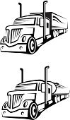 Fuel Tanker,Semi-Truck,Nautical Vessel,Road,Ilustration,Symbol,Image,Liquid,Oil,Fuel and Power Generation,Industry,Van - Vehicle,Armored Tank,Slanted,Set,Vehicle Trailer,Shipping,Wheel,Freight Transportation,Black Color,Land Vehicle,Group of Objects,Vector,Transportation,Traffic,Petroleum,Engine,Driving,Business,Fuel Pump,Car,Cargo Container,Storage Tank,Collection,Truck