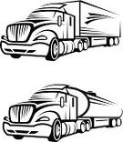 Semi-Truck,Truck,Symbol,Liquid,Driving,Transportation,Gasoline,Vehicle Trailer,Petroleum,Road,Black Color,Business,Engine,Slanted,Industry,Collection,Traffic,Land Vehicle,Shipping,Vector,Fuel and Power Generation,Image,Freight Transportation,Ilustration,Storage Tank,Cargo Container,Wheel,Group of Objects,Set,Fuel Tanker,Armored Tank,Car,Oil,Nautical Vessel