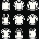 Fashion,Vector,Ilustration,Shirt,Clothing,Garment,T-Shirt,template,Collection