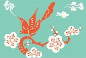 Plum Blossom,Cherry Blossom,Blossom,Orange Color,Tree,Japanese Culture,Bird,Turquoise,Backgrounds,Flower,1940-1980 Retro-Styled Imagery,Retro Revival,Cloud - Sky,Branch,Chinese Culture,Sign,Silhouette,Floral Pattern,Vector,Computer Graphic,Modern,Abstract,Asia,East Asian Culture,Zen-like,Design,Sparse,Ilustration,Symbol,Art Deco,Friendship,Style,Nature,Red,Springtime,Cool,Elegance,Curve,Plant,Beautiful,Beauty In Nature,Season,Clip Art,Animals And Pets,Flowers,Nature Backgrounds,Classical Style,Nature,Decoration,Contrasts,Birds,Exoticism,Fabolous,Ornate,Cute