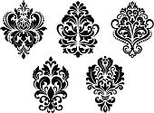 Ornate,Backgrounds,Scroll Shape,Swirl,Pattern,Silk,Old-fashioned,Ilustration,Abstract,Floral Pattern,Retro Revival,Victorian Style,Fabric Swatch,Variation,Decor,Part Of,Simplicity,Design Element,Flower,Silhouette,Textile,Decoration,Flourish,Tile,Backdrop,flourishes,Embellishment,Royalty,Shape,Computer Graphic,Elegance,Obsolete,Design,Vector,Brocade