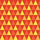 Sewing Pattern,Orange Color,Ilustration,Repetition,Seamless,Vector,Triangle,Shape,Computer Graphic,Geometric Shape,Backgrounds,Angle,Abstract,Creativity,Decoration,Design,Ornate,Yellow