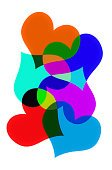 Color Image,Clip Art,Pattern,Heart Shape,Abstract,Ilustration