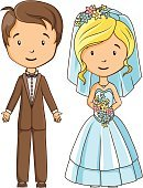 People,Computer Graphic,Honeymoon,Togetherness,marry,Women,Vector,Cute,Romance,Wedding
