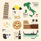 Italy,Symbol,Computer Icon,Rome - Italy,Flat,Infographic,Business Travel,Travel,Cultures,Vector,Pizza,Journey,Wine,Tower,Food,Map,Pisa,Olive,Coliseum,Overhead Cable Car,Pasta,Eating,Nautical Vessel,Design Element,Architecture,Isolated,Tourist,Chef,Spaghetti,Sign,Built Structure,Set,Ornate,Building Exterior,Bottle,Europe,Ilustration,People,Restaurant,Arranging,Summer,Venice - Italy,Design,Gladiator,Famous Place