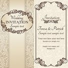 Ornate,Text,Frame,Renaissance,The Past,Swirl,Ancient,Invitation,Vignette,Invitation Template,template,Decoration,Old-fashioned,Victorian Style,Old,Holiday,Design,Banner,Pastel Colored,Baroque Style,Vector,Vertical,Retro Revival,Floral Pattern,Pattern,Ilustration,Brown,Placard,Antique,Classic,Dark,Beige,Greeting