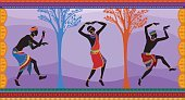 Orange,People,Symbol,Africa,Dancing,Design,Indigenous Culture,Ceremony,Tambourine,Orange Color,Multi Colored,Pattern,Tropical Climate,Cultures,Summer,Plain,Silhouette,African Culture,Ethnicity,Backgrounds,Adult,Ornate,Global Communications,Abstract,Illustration,Group Of People,Males,Men,Organized Group,Ceremonial Dancing,Dancer,Vector,Fashion,Collection,African Ethnicity,Ornamented,Background,Decorative Pattern,Isolated,Plain,It Is Isolated