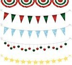Bunting,Flag,Party - Social Event,Christmas,String,Frame,Hanging,Vector,Celebration,Christmas Ornament,Christmas Decoration,Winter,Holiday,Decoration,Cute,Design Element,Green Color,Red,Star Shape,Gold Colored,Gold,Light Bulb,No People,Metallic,Waving,Flag Bunting,Ilustration,Isolated,Fun,Bright,Shiny,Isolated On White,Holidays And Celebrations,Illustrations And Vector Art,Christmas,Vector Ornaments