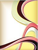 Retro Revival,Yellow,Pink Color,Green Color,Design,Vector,Curve,Backgrounds,Ilustration,Abstract