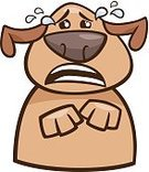 Depression - Sadness,Dog,Sadness,Puppy,Pets,Emoji,Facial Expression,Animal,Emoticon,Humor,Animal Nose,Clip Art,Drawing - Art Product,Emotion,Vector,Grief,Characters,Fun,Canine,Mascot,Cute,Crying,Despair,Ilustration,Cartoon,Tear,lament