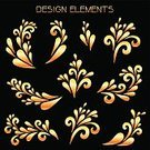 Drop,Flower,Abstract,Flowing,Celebration,Event,Circle,Decor,Smooth,Decoration,Running,Corner,Gold Colored,Wedding,Closed,Leaf,Composite Image,Swirl,Elegance,Infinity,Frame,Flourish,Old-fashioned,Mosaic,Set,Vector,Curled Up,Part Of,Design,Dividing,Petal