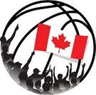 Fan,Flag,Sport,Ball,High-Five,Clapping,Silhouette,Sports Team,Canadian Culture,Basketball - Sport,Cheering,Canada,Canadian Flag