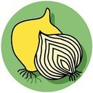 Onion,Vegetable,Icon Set,Symbol,Religious Icon,Isolated Objects,Fruits And Vegetables,Food And Drink,Vector,Ilustration,Food