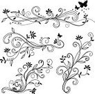 Flower,Abstract,Vine,Floral Pattern,Vector,Line Art,Spotted,Pattern,Swirl,Embellishment,Doodle,Scribble,Scroll Shape,Flourish,Calligraphy,Nature,Sketch,Incomplete,Outline,Retro Revival,Curve,Computer Graphic,Black And White,Growth,Wave Pattern,Old-fashioned,Decoration,Painted Image,Hand-drawn,Flowing,Design Element,Clip Art,Circle,Creativity,Ornate,Drawing - Art Product,Art,Elegance,Classic,Antique,Part Of,Ilustration,Digitally Generated Image,Design,Curled Up,Drawing - Activity