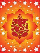 Ganesh,Ganesha,India,Indian Culture,God,Pattern,Symbol,Temple - Building,Vector,Star - Space,Backgrounds,Spirituality,Praying,Luck,Religion,Greeting,Ilustration,Power,Vector Backgrounds,Religion,Star Shape,Power,Concepts And Ideas,Illustrations And Vector Art